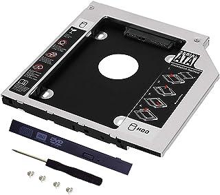 9.5mm 2nd HDD光学トレイの交換用MacBook Pro 13/15/17インチ、薄型光学ドライブベイ、内蔵ラップトップCD/DVD-ROM HDDキャディA1278用A1286 A1297 A2002 2008 2009 2010 ...