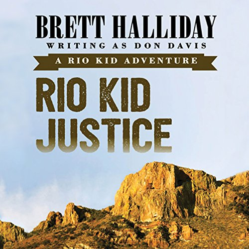 Rio Kid Justice audiobook cover art