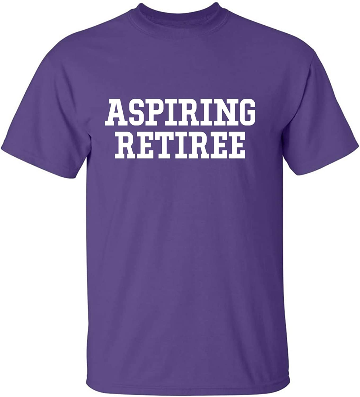 zerogravitee Aspiring Retiree Adult Short Sleeve T-Shirt