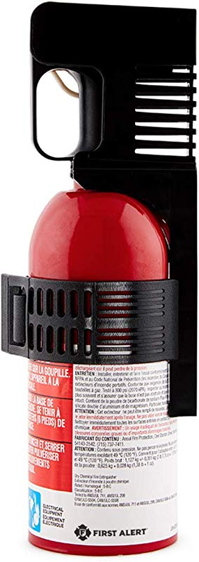 First Alert Fire Extinguisher Car Fire Extinguisher Red AUTO5