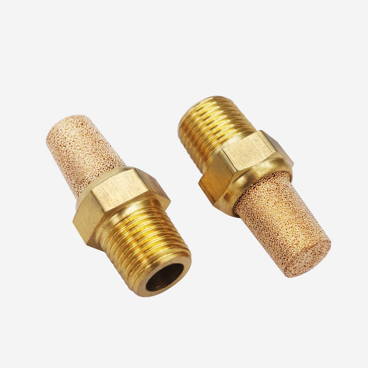Business & Industrial Brass Silencer Connector 1/4