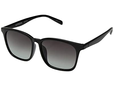 Spy Optic Cooler (Matte Black/Ocean Fade) Fashion Sunglasses