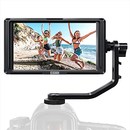 ESDDI F5 Inch Camera Field Monitor with 4K HDMI Input...