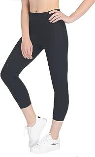 Yunoga Women's High Waist Yoga Pants - 4 Way Stretch Tummy Control Workout Leggings with Pockets