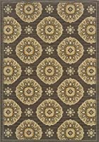 Oriental Weavers 5863N Bali Outdoor/Indoor Area Rug 7-Feet 10-Inch by 10-Feet 10-Inch [並行輸入品]