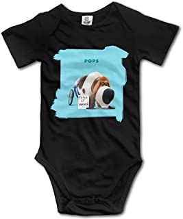Fryhyu8 Newborn Childrens Dogs Because People Suck Printed Long Sleeve 100/% Cotton Infants Clothes