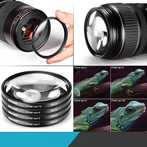 58 mm UV Filter Canon EF-S 55-250mm f//4-5.6 is STM 58mm Ultraviolet Filter Premium Pro 58mm HD MC UV Filter for 58mm UV Filter