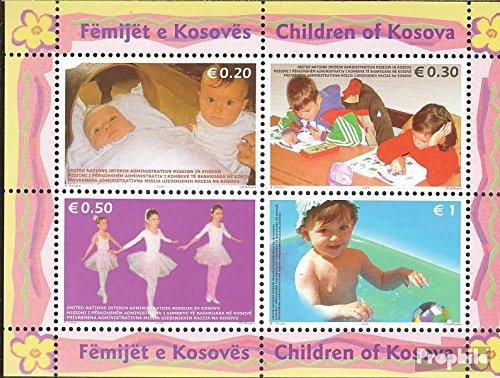 Kosovo (Nations Unies-de Gestion) mer.-no.: Block2x (complète.Edition.) 2006 Enfants (Timbres pour Les collectionneurs)