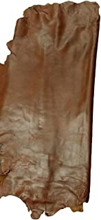 Reed Sheep Leather Skin -Whole Skin 7 to 10 SF - Brown