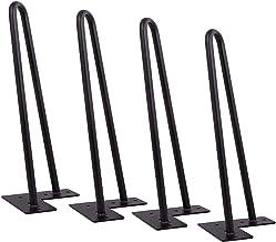 Tafelpoten, metalen tafelpoten, haarspeld tafelpoten Stoelpoten Meubelpoten Metalen haarspeld salontafelpoten, voor doe-he...