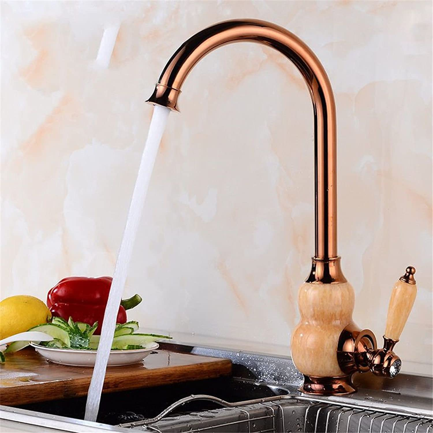 NewBorn Faucet Kitchen Or Bathroom Sink Mixer Tap Pure Copper bluee-Tiled Full Copper Antique Antique Table Hot And Cold Basin Sinks Water Tap S C