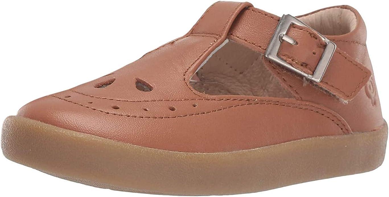 Old Soles Girl's 5011 Royal Shoe Premium LeatherT-Strap Sneaker Shoe