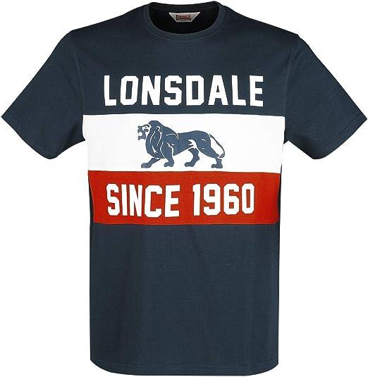 Lonsdale Aldeburgh Camiseta para Hombre