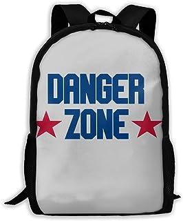 Lawenp Mochila para portátil de Viaje Danger Zone Mochila Informal de Lona