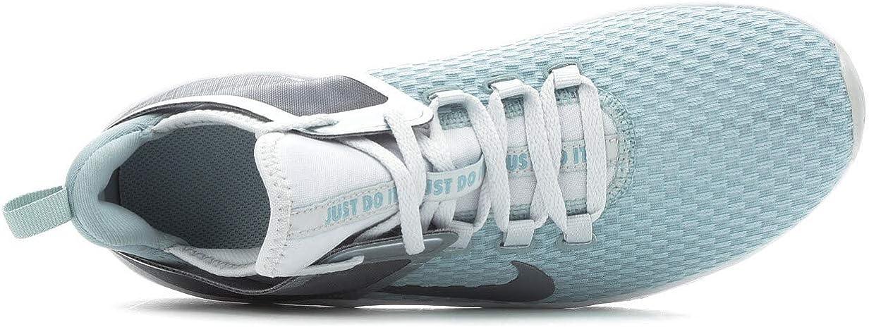Nike Damen Air Max Bella 2 Fitnessschuhe, ORO Blanco Blau Ocean Cube Mtlc Cool Grey Pure 300