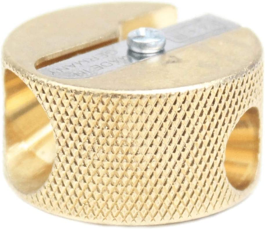 MOBIUS RUPPERT Solid Brass Max 88% OFF Pencil Sharpener Regular store Double Circular -