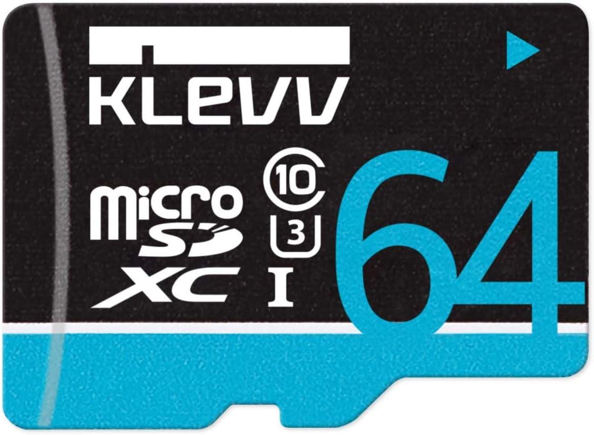 KLEVV Premium 64GB Micro online shopping SD Card Memory U064GUC3U14-B Ranking TOP9 - Flash
