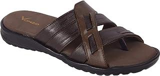 VONZO Men Brown Soft Doctor Chappal - Slippers- Super Soft 503