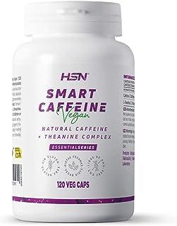 Natuurlijk Nootroop van HSN   Slimme Cafeïne   Met Theanine   Maximale Concentratiesupplement + Studiehulp   Veganistisch,...