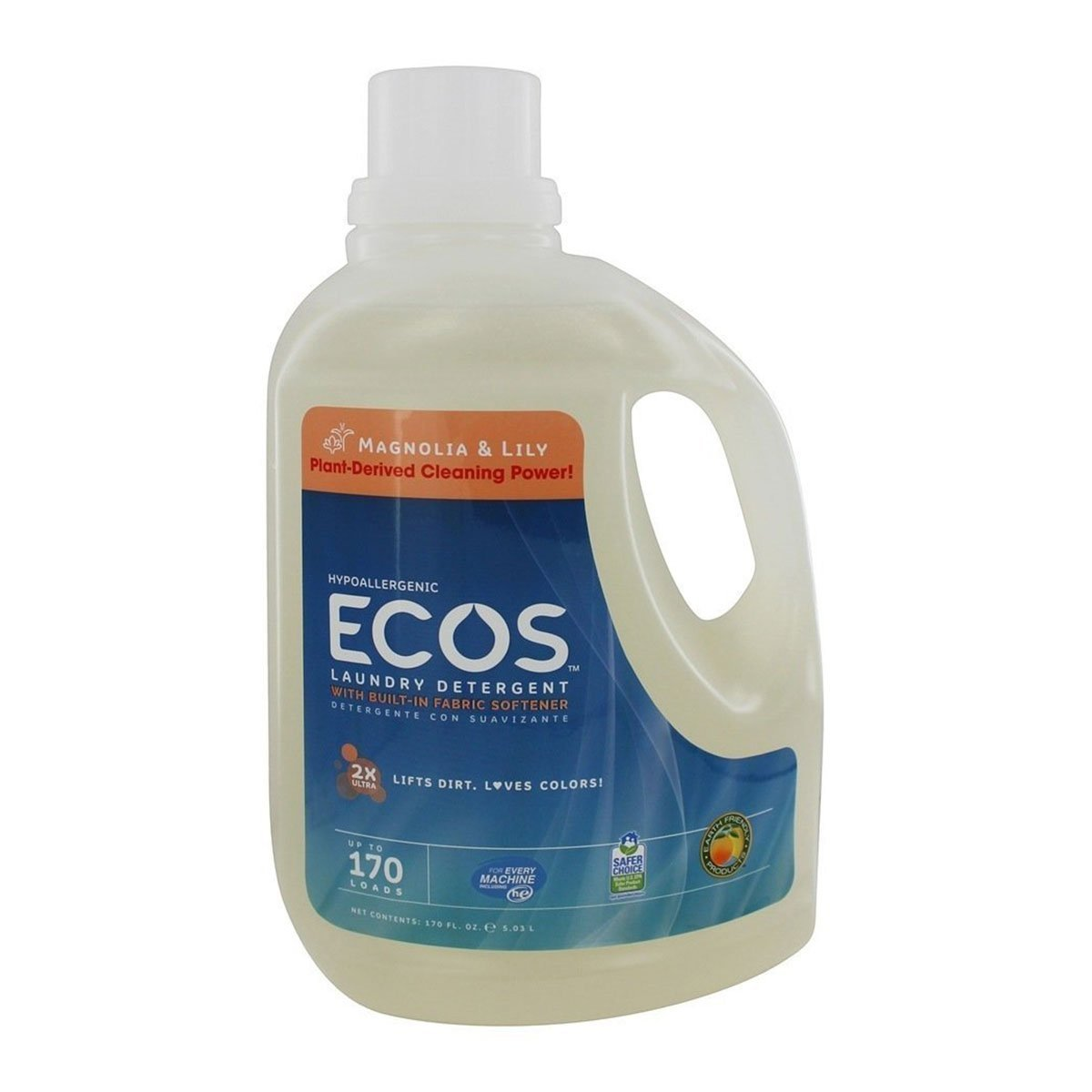 Earth Max 79% OFF Friendly 2X Ultra Ecos Laundry Deterge Trust Lilies Magnolia and