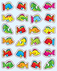 Fish Shape Stickers