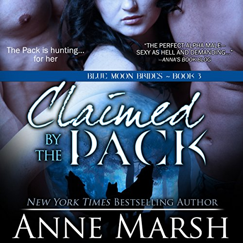 Claimed by the Pack audiobook cover art
