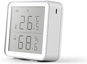 aixi-SHS Wi-Fi Sensor de temperatura y humedad Pantalla Pantalla Gráfico de datos Historial Smart Life APP Control