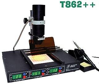 T862++ BGA Infrared Irda Rework Station Soldering Machine Welder Heating System US Stock
