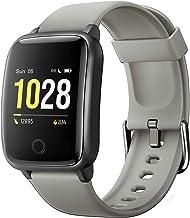 Fitpolo Smartwatch voor dames en heren, kinderen, fitnesstracker, fitnessarmband met hartfrequentie, IP68 waterdicht, fitn...