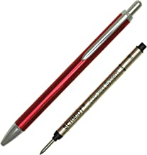 Schmidt Capless Rollerball Pen, Anodized Red (SC82186)