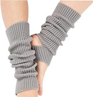 Yoga Calcetines Calcetines Toeless Formación De Danza Calentadores De La Pierna Para Muchachas De Mujeres