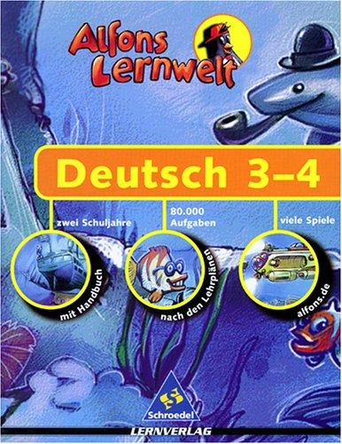 Preisvergleich Produktbild Alfons Lernwelt - Deutsch 3-4