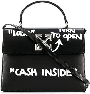 Luxury Fashion   Off-White Womens OWNA090E197191081001 Black Handbag   Fall Winter 19