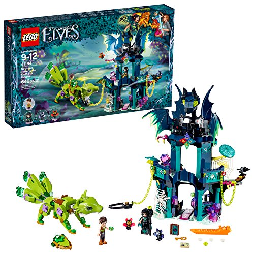 LEGO 6212148 Elves Noctura's Tower and The Earth Fox Rescue 41194 Building Kit