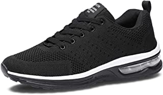 Fexkean Hommes Femme Basket Mode Chaussures de Sports Course Sneakers Fitness Gym athlétique Multisports Outdoor Casual