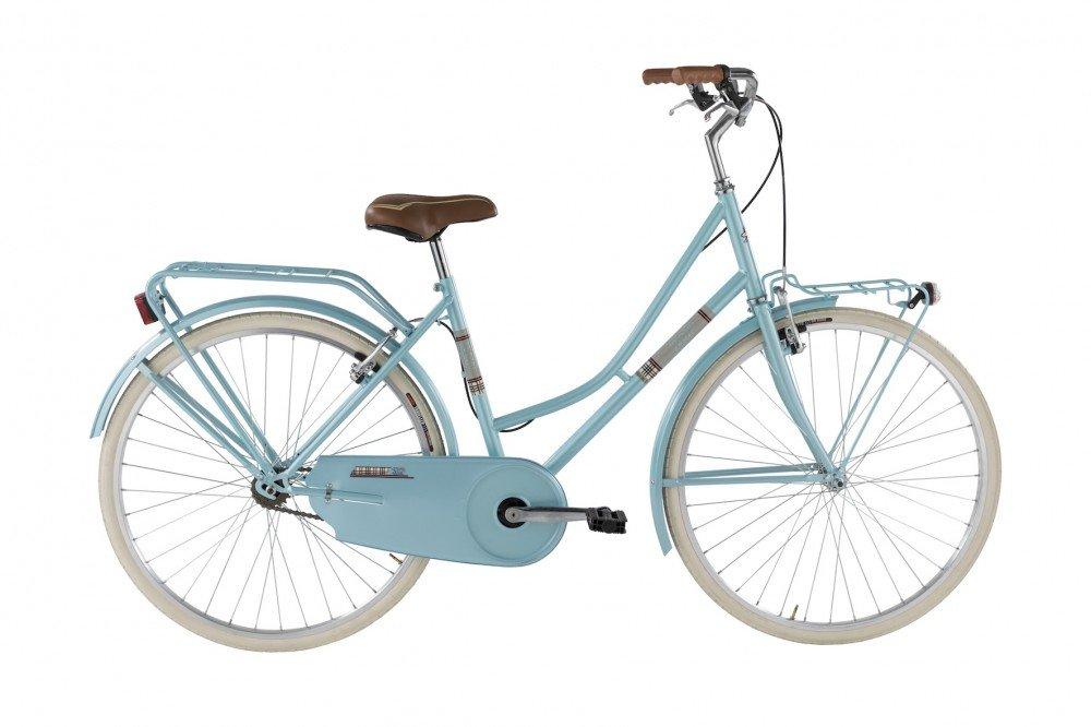 Bicicleta Holanda de mujer de Alpina con marco de acero, azul ...