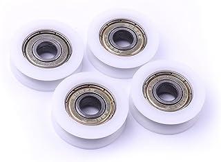 15 mm Kugelrolle 20 mm Rise Roboter Umwandler Schieber Silber