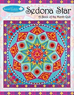 Sedona Star a Block of the Month Quilt Machine Embroidery Design by Sarah Vedeler Designs