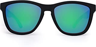 203b497acc Jim Halo Gafas de Sol Retro Polarizadas Lente Reflexivo Espejo Anteojos  Hombre Mujer