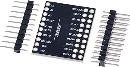 Electronic Module MCP23017 Sequential Interface Module IIC I2C SPI MCP23S17 Bidirectional 16-Bit I/O Expander Pins 10Mhz S...