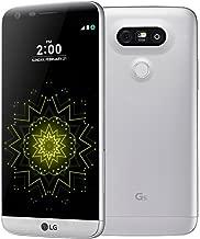 LG G5 4G LTE Dual Camera 32GB Silver Smartphone GSM Unlocked (Renewed)