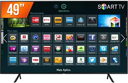 Smart TV LED UHD 4K, Samsung, UN49NU7100GXZD