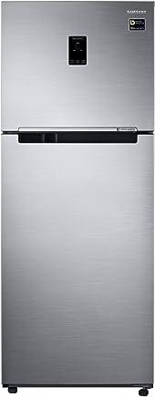Samsung 394 L 3 Star Frost Free Double Door Refrigerator(RT39M5538S8/TL, Elegant Inox, Convertible, Inverter Compressor)