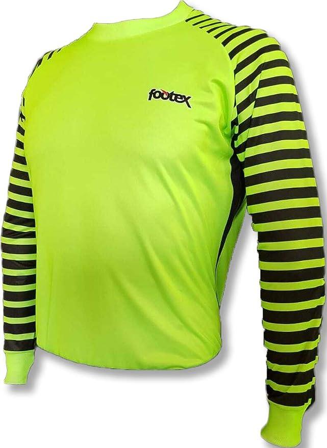Footex Maglia Portiere Calcio Calcetto MOD. Monaco Volt Green ...