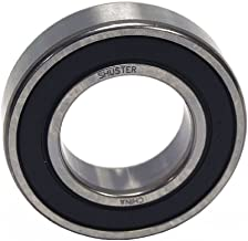 Shuster 6905 2RS Deep Groove Ball Bearing, Single Row, Double Sealed, Normal Clearance, ABEC 1 Precision, 42 mm Height, 9 mm Width, 42 mm Length, 25 mm ID, High Carbon Chrome Bearing Steel