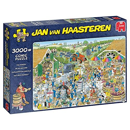 Jan van Haasteren B07XFN7BJ3 Weingut-3000 Teile Toy, Mehrfarben