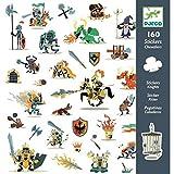 Djeco 160 Stickers Chevaliers - Multicolore