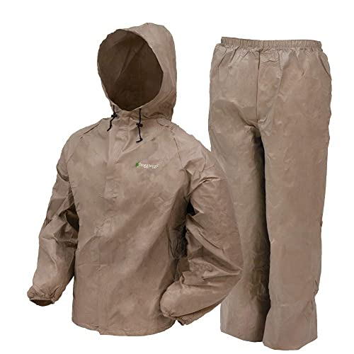 bb0c5c27d36 Frogg Toggs Ultra-Lite2 Water-Resistant Breathable Rain Suit