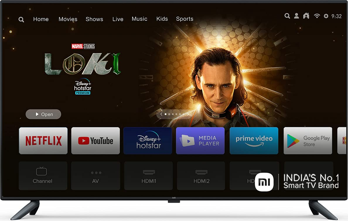 Mi 125.7 cm (50 Inches) 4K Ultra HD Android Smart LED TV 4X|L50M5-5AIN (Black) 1