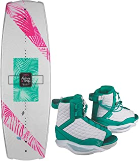 Ronix Krush Wakeboard Women's Package w/Luxe Boots (2019)